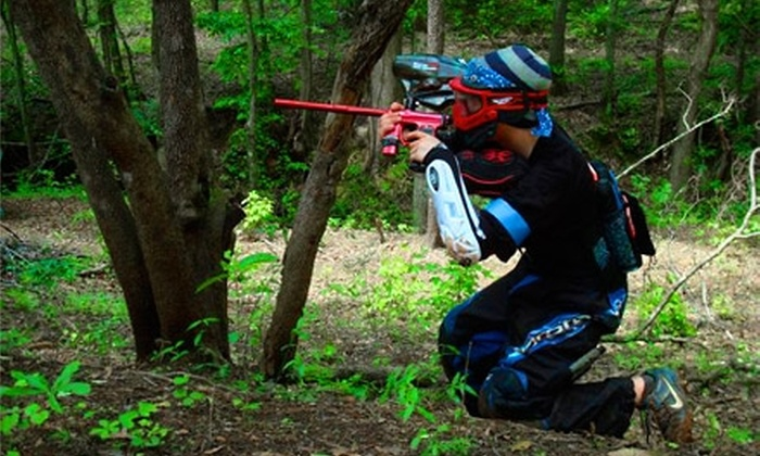 PBC Paintball Park - Multiple Locations: $19 for Admission, Equipment, Unlimited Air, Three Hours of Play, and 200 Paintballs at PBC Paintball Park ($38 Value)