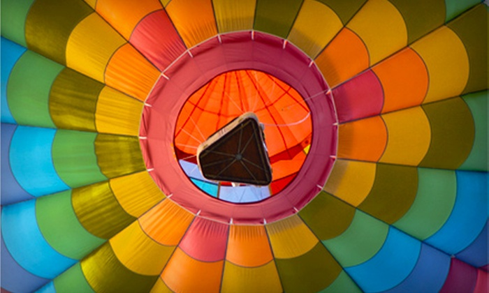 Above the Rest Hot Air Ballooning & Sky Diving - Multiple Locations: $99 for a Semiprivate Hot Air Balloon Ride from Above the Rest Hot Air Ballooning & Sky Diving