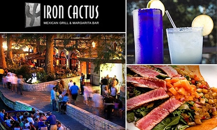 Iron Cactus - San Antonio: $15 for $30 Worth of Mexican Eats and Drink at Iron Cactus San Antonio
