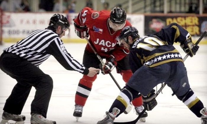 Odessa Jackalopes - Odessa: $8 for One Main-Level Ticket ($16 Value) or $6 for One Goal Ticket to ($12 Value) The Odessa Jackalopes. Ten Dates Available.