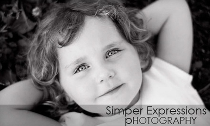 "Simper Expressions - Central Business District: $59 for Photo Session and Two 11""x14"" Prints from Simper Expressions ($155 Value)"