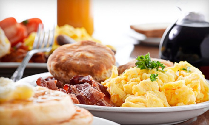 Baker Hill Pancake House - Northeast Elgin: $7 for $15 Worth of Classic Diner Fare and Drinks at Baker Hill Pancake House in Elgin