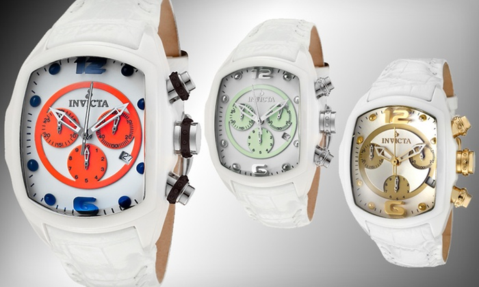 Men's or Women's Invicta Lupah Watch: $159 for a Men's or Women's Invicta Lupah Watch ($1,595 List Price). Six Styles Available. Free Shipping and Returns.