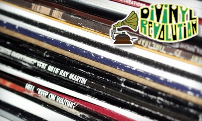 DiVinyl Revolution - Saratoga Springs: $5 for $10 Worth of Music, Movies, and More at DiVinyl Revolution in Saratoga Springs