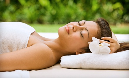 1-Hour European Facial and 1-Hour Herbal Body Wrap (a $155 value) - Amber Spa in Chicago