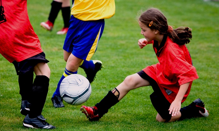 Citius Athletic Club Miami - Media and Entertainment District: $49 for Two-Week Youth-Soccer Trial Registration and Membership at Citius Athletic Club Miami ($144 Value)
