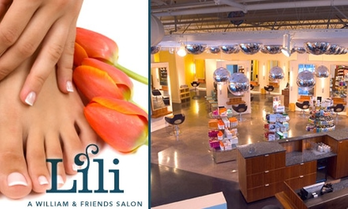 Lili Salon - Minnetonka - Hopkins: $39 for a Mani-Pedi and a $10 Voucher for Products at Lili A William & Friends Salon ($88 Value)