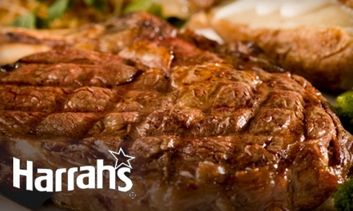 Harrah's Steakhouse - Downtown Reno: $10 For $20 Worth of Lunch (or $25 for $50 Worth of Dinner) at Harrah's Steakhouse