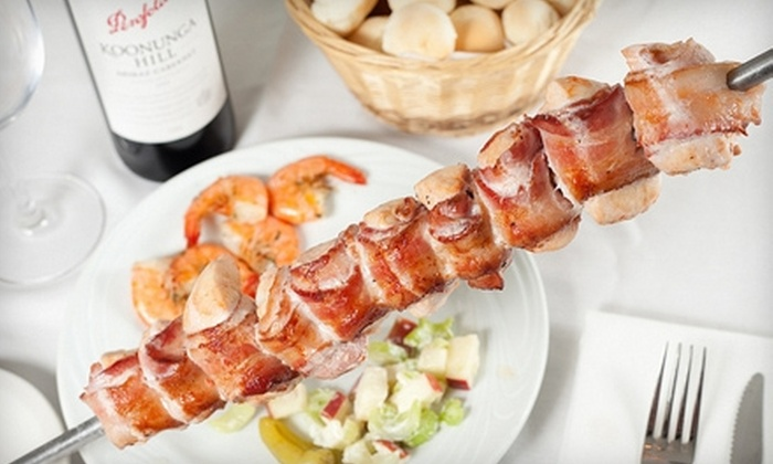 Samba Brazilian Steakhouse - West End: $20 for $40 Worth of Brazilian Fare and Drinks at Samba Brazilian Steakhouse