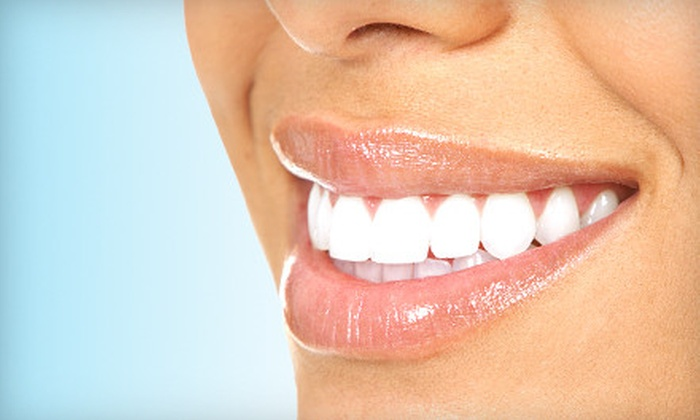 Cosmetic & Implant Dentistry of Maryland - Pikesville: Exam, Cleaning, and X-rays or Zoom! Whitening Treatment at Cosmetic & Implant Dentistry of Maryland (Up to 77% Off)