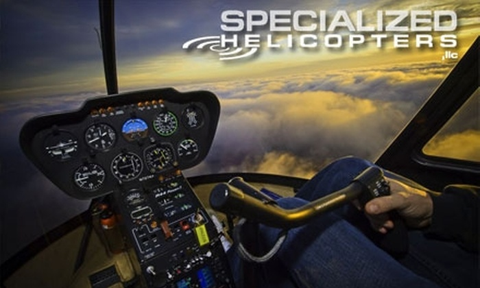 Specialized Helicopters - Watsonville: $99 for an Introductory Helicopter Lesson from Specialized Helicopters in Watsonville ($199 Value)