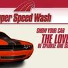 40% Off at Super Speed Wash