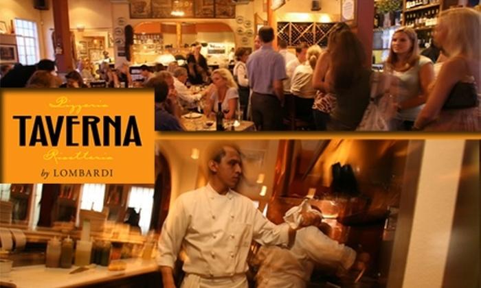 Taverna - Downtown: $40 Worth of Italian Cuisine at Taverna