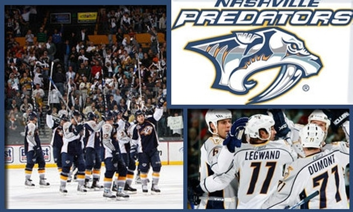 Nashville Predators - Downtown Nashville: $36 for One Club-Level Seat at a Nashville Predators Game. Choose Between Two Games.