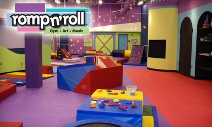 Romp n' Roll - Willow Grove: $39 for a 10-Session Kids' Open Gym Pass at Romp n' Roll of Willow Grove ($85 Value)