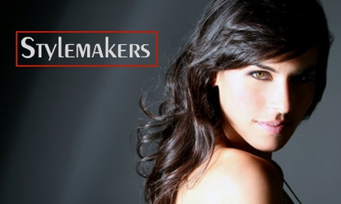 Stylemakers Salon - Downtown Fort Worth: $45 Haircut with Color or Partial Highlights at Stylemakers Salon