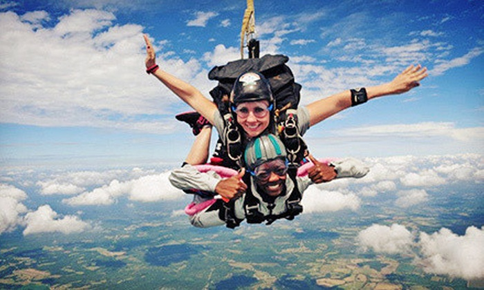 Skydive Carolina! - Chester: $136 for a Tandem Skydive with Instructor from Skydive Carolina! (Up to $220 Value)