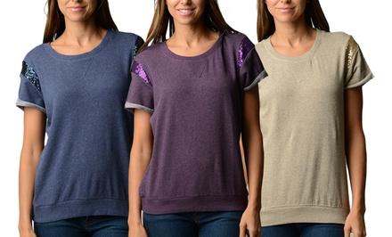 Women's Embellished Sweatshirt