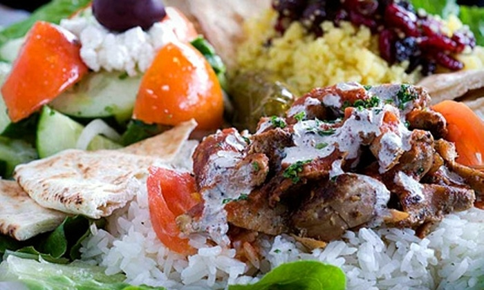 Babalou's Mediterranean - Downtown Walnut Creek: $10 for $20 Worth of Mediterranean Fare and Drinks at Babalou's Mediterranean in Walnut Creek