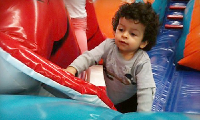 Bounce Town - South Windsor: $5 for Open Play Session for One Child in Bounce-House Open Play at Bounce Town in South Windsor ($10 Value)
