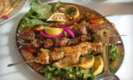 2 Mezza Samplers (a $34 value) - Sahara Mediterranean Cuisine in Michigan City