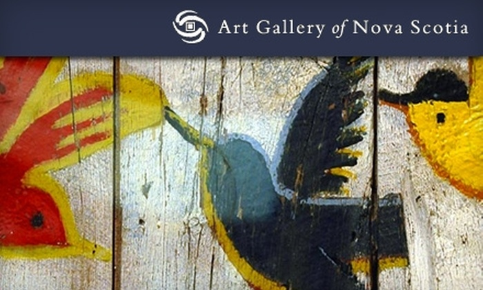 Art Gallery of Nova Scotia - Downtown Halifax: Day Pass to the Art Gallery of Nova Scotia. Two Options Available.