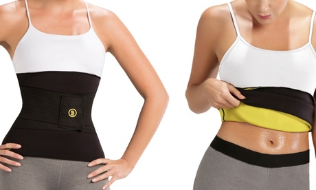 Thermal Slimming Hot Belt with Waist Trainer