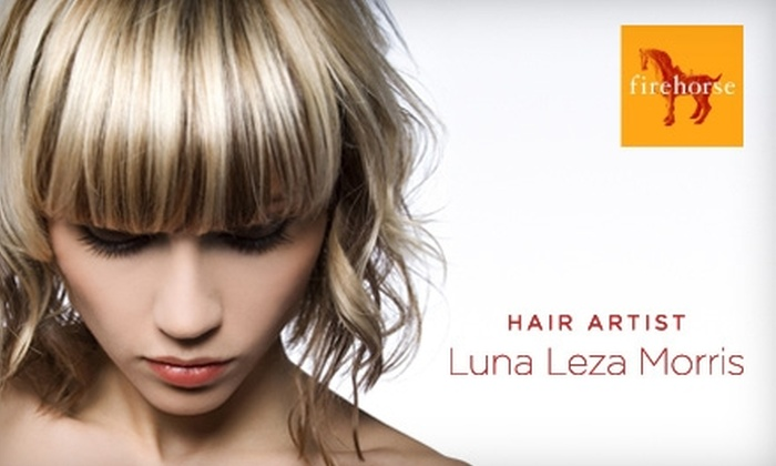 Firehorse Salon - Hayes Valley: $35 Haircut, Wash, and Style from Luna Leza Morris at Firehorse Salon ($80 Value)