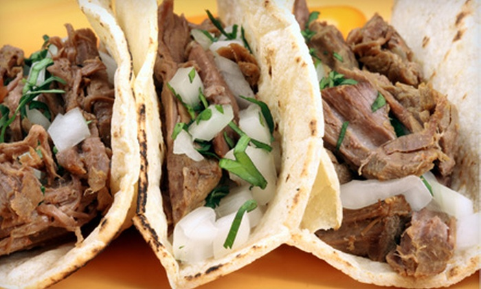 Blue Agave Cantina & Tequila Bar - Downtown,North Broadway/short Street: $10 for $20 Worth of Mexican Cuisine and Margaritas at Blue Agave Cantina & Tequila Bar