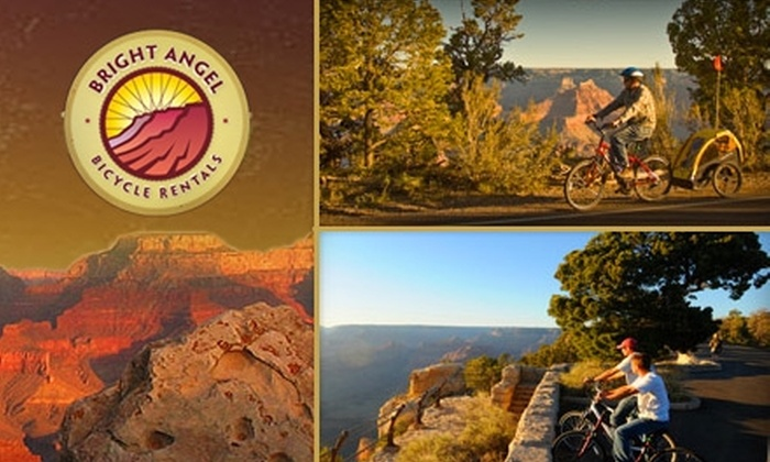 Bright Angel Bicycle Rentals - Williams: Half Off One 2.5-Hour Guided Bike Tour of Grand Canyon with Bright Angel Bicycle Rentals. Choose Either Adult or Child Admission.