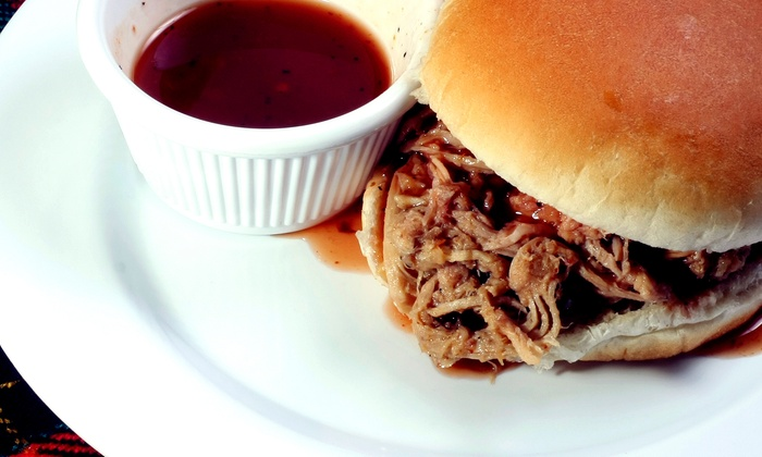 Britt's BBQ - El Segundo: $11 for Pulled-Pork or Pulled-Chicken Meal for Two at Britt's BBQ ($21.80 Value)