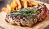 The Crown At Worthington - Non-Accommodation - Standish: Two-Course Rump Steak Meal With Wine For Two £19 at The Crown at Worthington