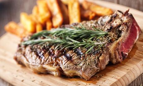 Menú para dos con aperitivo, entrantes, principales, bebidas y postres desde 19,95 € en El Alquimista Oferta en Groupon