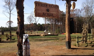 Three Bears Acres: Day Pass for One, Parent and Child Pass, or Family of Four Pass at Three Bears Acres (Up to 41% Off)