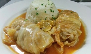 Cafe LuMar: $15 for $25 Worth of Croatian Dinner Cuisine and Crepes at Cafe LuMar