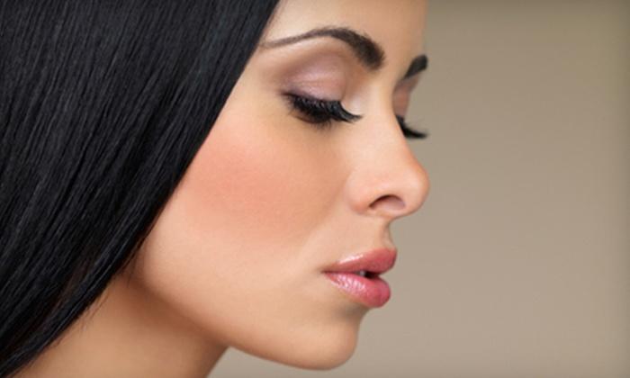 Genesis Hair Studio - North Easterns: One Eyebrow and Upper-Lip Threading or Three Eyebrow Threadings at Genesis Hair Studio (Up to 52% Off)