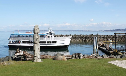 $22 for a Blake Island Adventure Cruise from Tillicum Village & Tours  (Up to $40 Value). Eight Dates Available.