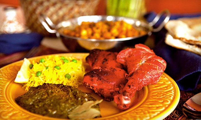 Bombay Mahal Restaurant - South Side: Indian Dinner for Two or Four at Bombay Mahal Restaurant in Waltham (Up to 58% Off)