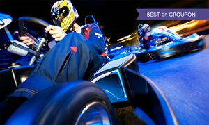 F1K Ltd - West London and HQ: F1K Indoor Karting: 50-Lap Race for £23 at Choice of Location (52% Off)