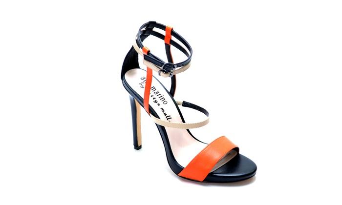 f45c793b368c77 Ann Marino by Bettye Muller Women s Strap Dress Sandals (Size 9.5 ...