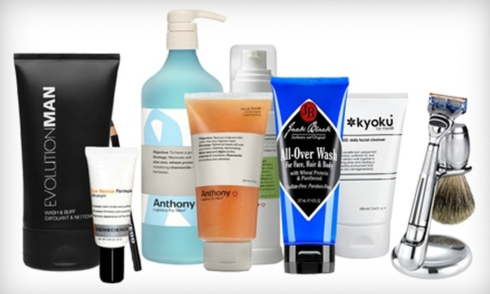 Luxury4Him.com: $20 for $40 Worth of Luxury Men's Grooming Products from Luxury4Him.com