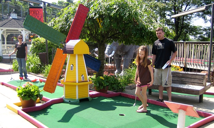 Putterz - Ypsilanti: 18 Holes of Mini Golf for Two or Four with Soft Drinks or Icees at Putterz (Up to 58% Off)