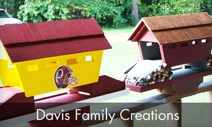 Davis Family Creations - Chesapeake Beach: $40 for $85 Worth of Custom Woodwork Items at Davis Family Creations