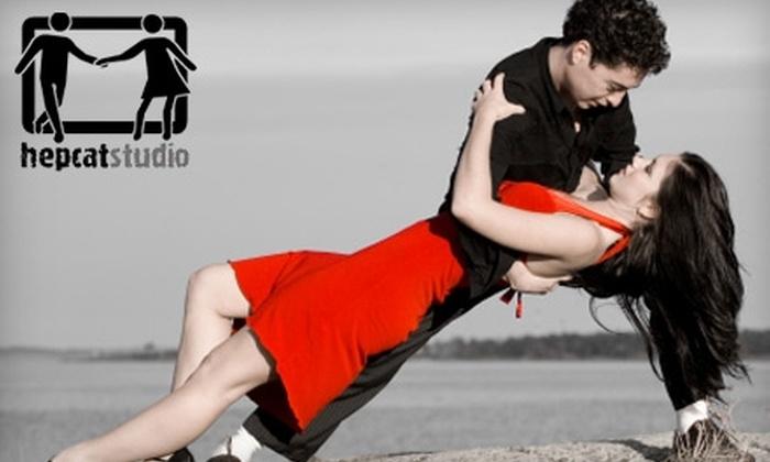 HepCat Studio - Downtown Winnipeg: Four-Class Beginner Swing-Dance Course at HepCat Studio (Up to $56 Value). Choose Between Two Options.