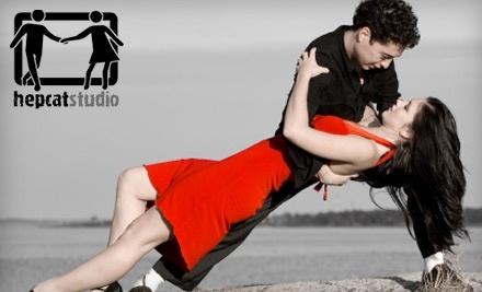 HepCat Studio: 4-Class Beginner Swing-Dance Course for 1 Person - HepCat Studio in Winnipeg