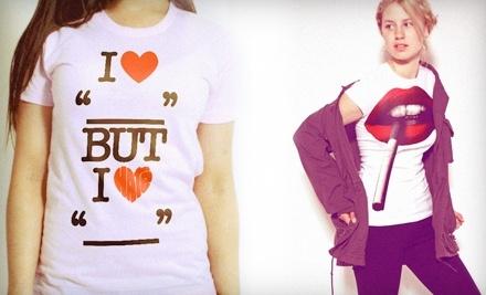 $30 Groupon to Bang-On T-Shirts - Bang-On T-Shirts in Vancouver