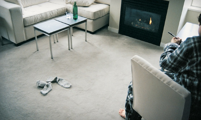 A&C Carpet Cleaning - Cobblestone: $59 for Three Rooms of Deep Carpet Cleaning from A&C Carpet Cleaning ($187 Value)