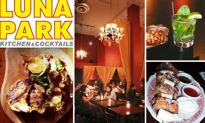 Luna Park - Mission Dolores: $20 for $40 Worth of Fare and Drinks at Luna Park
