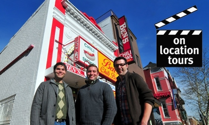 On Location Tours - Dupont Circle: $20 for a 3-Hour Tour of Washington DC Movie and TV Sites from On Location Tours