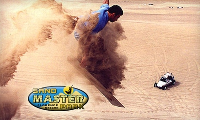 Sand Master Park - North Siuslaw: $10 for Sandboarding Rental and Day Pass at Sand Master Park (Up to $25 Value)
